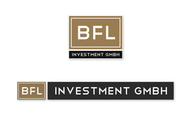 Logoentwicklung / Corporate Design BFL Investment GmbH in Frankfurt